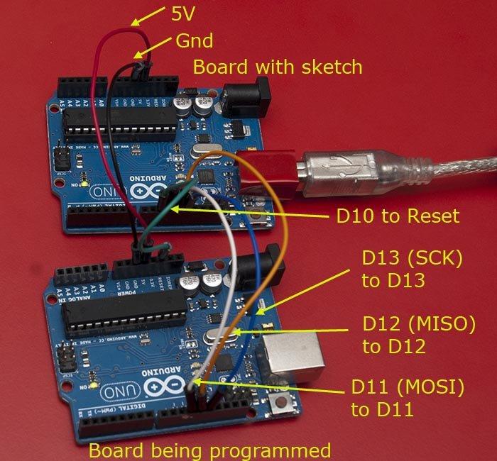 Bootloader programmer for Uno